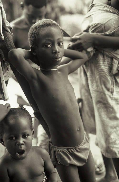 Alain Chatenet - Tirage photo numerote signe - Enfant
