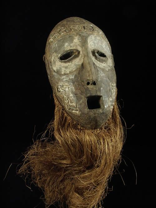 Masque Lukwakongo - Lega / Nziba - RDC Zaire - Masques africains