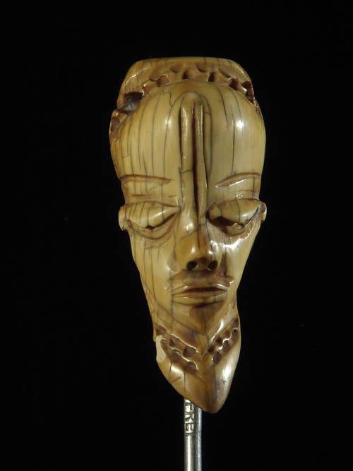 Amulette Ikhoko - Pende - RDC Zaire ivoires et corne africaines