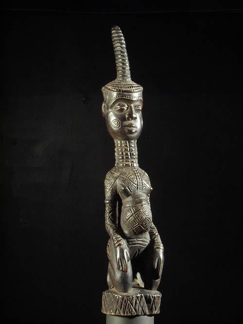 Statuette ancetre Totshi - Ndengese - RDC Zaire - Statuette afri