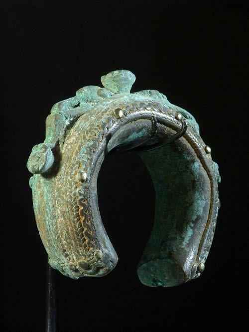 Bracelet ancien - Dogon - Mali - Bijoux Bronze Africains