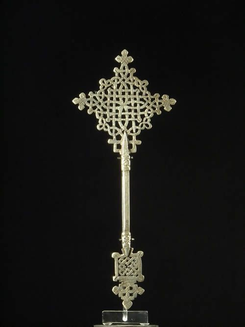 Croix personnelle Copte - Oromo / Amhara - Ethiopie