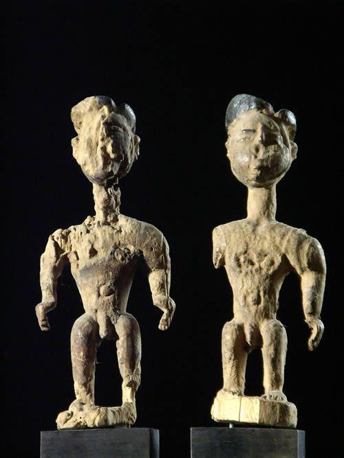 Couple de jumeaux - Fon - Benin - Statues Africaines