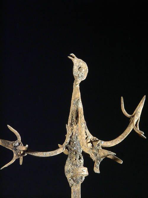 Fer rituel oiseaux Osanyin - Yoruba - Benin / Nigeria