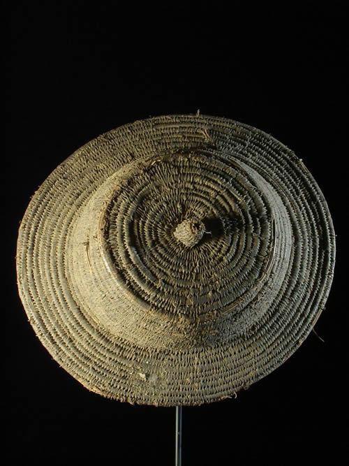 Chapeau de paille - Tamberma - Togo - Objets usuels