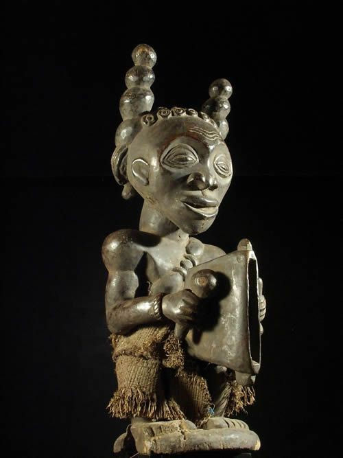 Statue ancetre - Luba Shankadi - RDC Zaire - Statue africaines