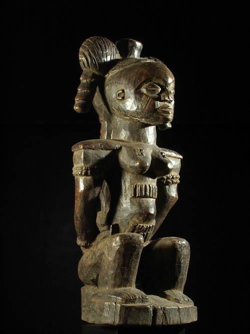 Statue ancetre - Kuba Shoowa - RDC Zaire - Statue africaines