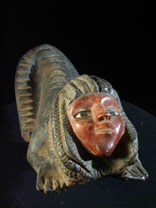Statuette Vaudou Mami Wata sirene - Ewe - Benin - Culte Vaudou