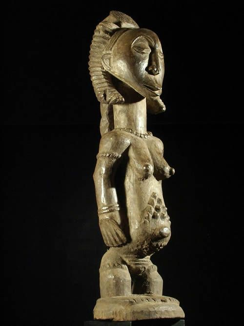 Statue ancetre - Luba - RDC Zaire - Statue africaines