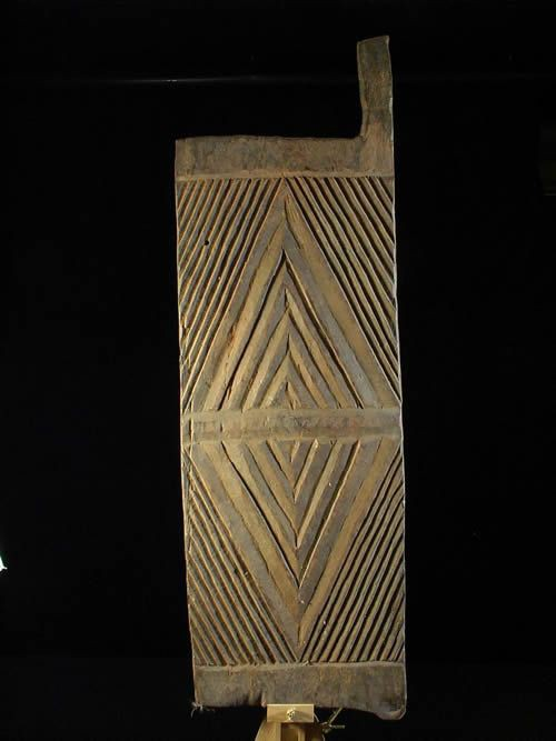 Porte / Volet de grenier a grain - Ibo - Nigeria - Portes Ibo