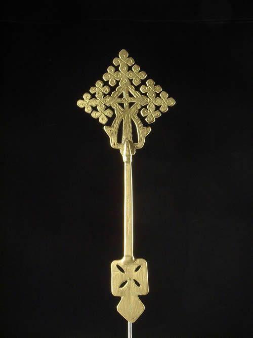 Croix personnelle Copte sans socle - Oromo / Amhara