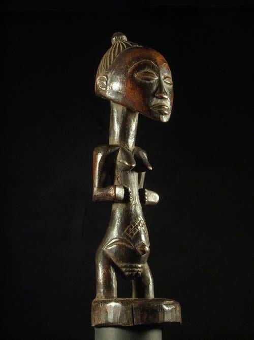 Statue Cultuelle - Luba - RDC Zaire - Statue africaines