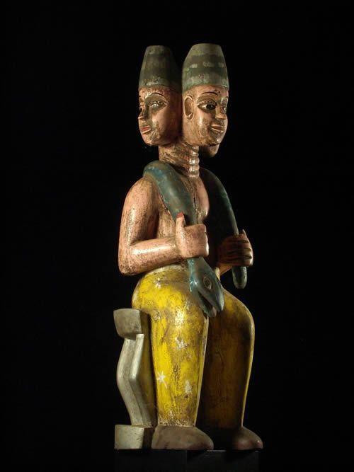 Statuette Vaudou Culte Mami Wata - Ewe - Benin - Culte Vaudou