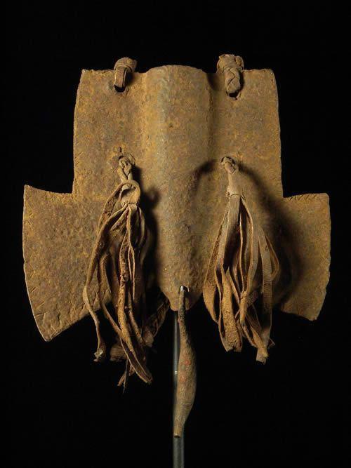 Monnaie primitive cache sexe fer noir - Fulani / Peuhl - Camerou