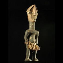 Statuette polychrome -...