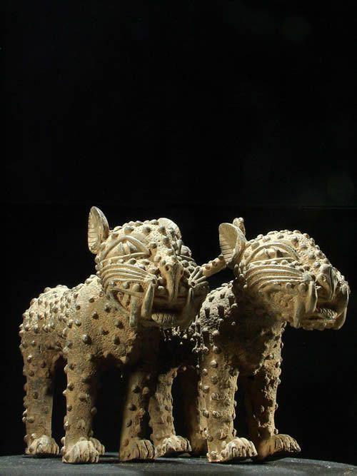 Leopards Royaux - Bini Edo - Benin - Bronzes du Benin