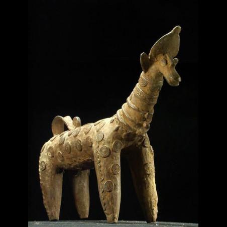 Girafe en bronze - Bobo...
