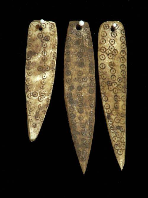 Pendentifs os de chameau - Sidamo - Ethiopie - Colliers ethnique