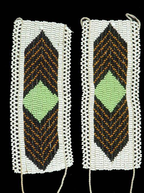 Chevillere en perles - Zoulou - Afrique du sud