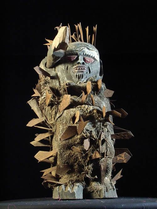 Fetiche a lames - Ethnie Ewe - Togo - Fetiches a lames