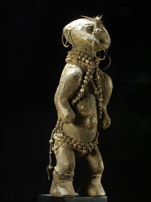 Statue reliquaire - Zande - RDC Zaire / Centrafrique - Mani