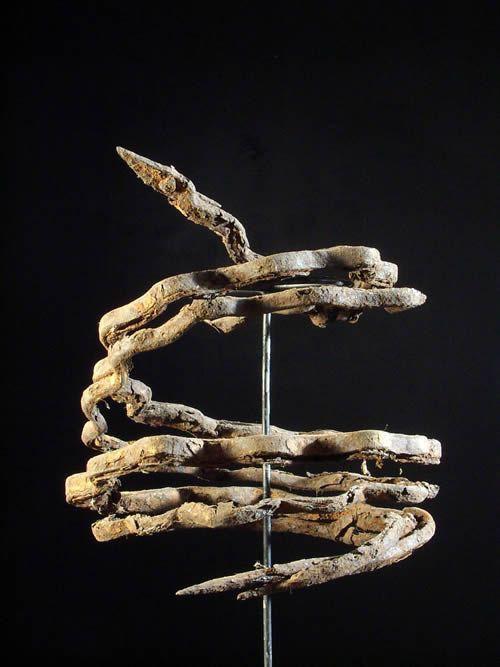 Serpents accouples Vodun Dan - Fers rituels - Fon - Benin