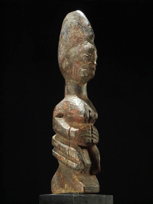 Statuette autel - Yoruba - Nigeria - Statues art primitif
