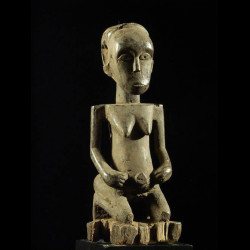 Statue ancetre feminin -...
