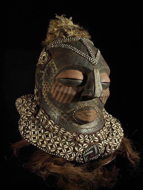 Masque Bwoom Lwoop Lambwoom - Kuba /Bushoong - RDC Zaire