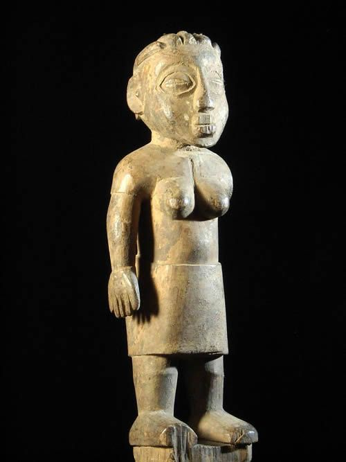 Statuette Jumeau - Ewe - Togo ou Benin - Art africain