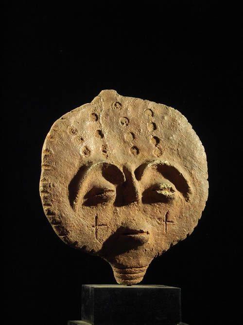 Tete funeraire Abusa Kuruwa - Akan - Ghana - Terres cuites