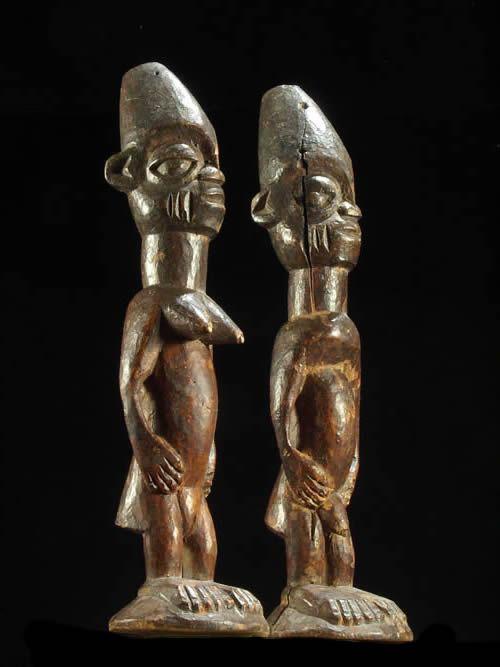 Jumeaux Ibedji ou Ibeji - Yoruba - Nigeria - Statues Africaines