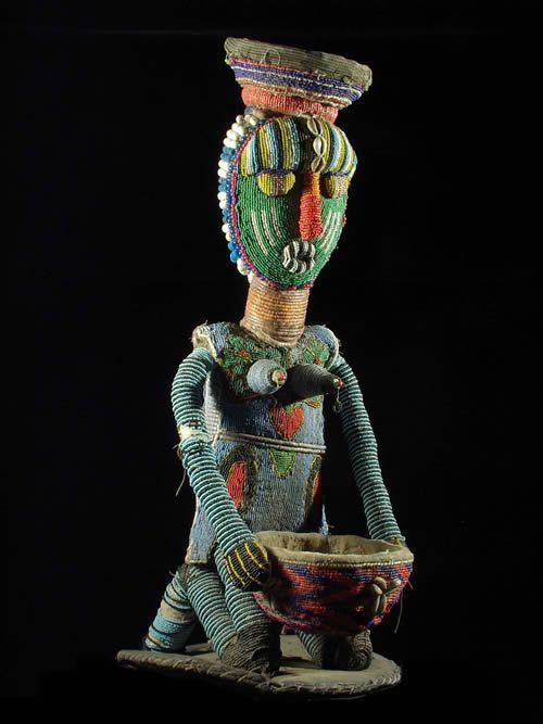Maternite porteuse de coupe - Yoruba - Benin - Region Sokode