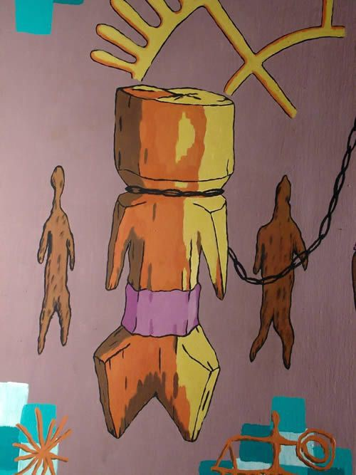 Moba - Osi Valdes - Lome - Togo - Peintres Africains