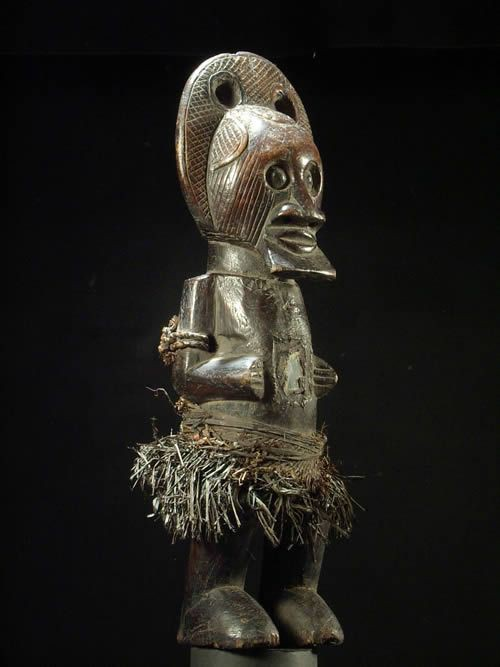 Statue cultuelle ancetre Tkira Nswo - Teke - RDC Zaire
