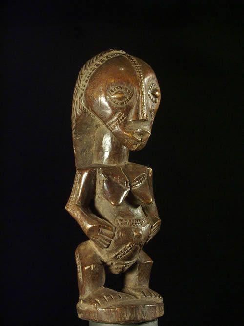 Statue cultuelle ancetre - Tabwa - Rdc Zaire