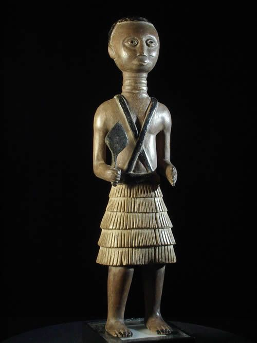 Colon ou statuette - Fanti - Ghana - art africain