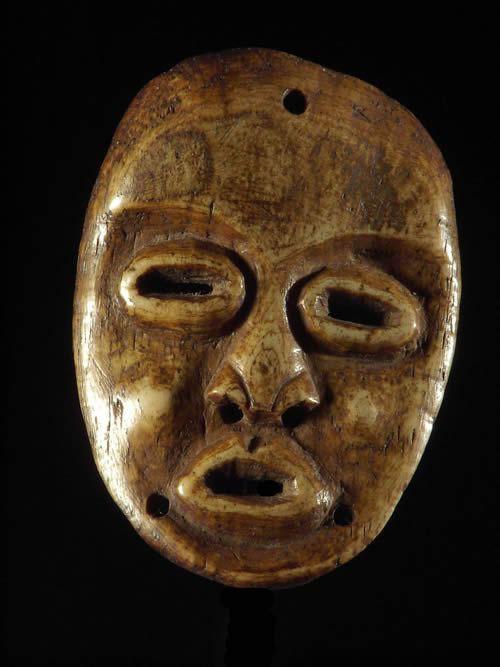 Masque en os - HoloHolo - RDC Zaire / Tanzanie - Masques d'afri