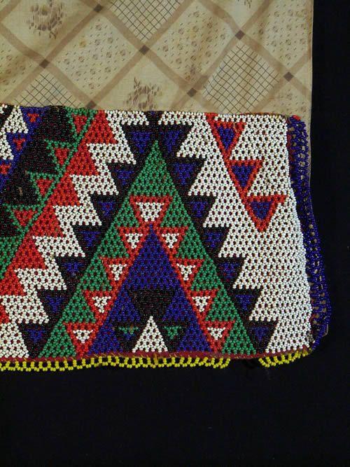 Tablier en perles - Zoulou - Afrique du sud