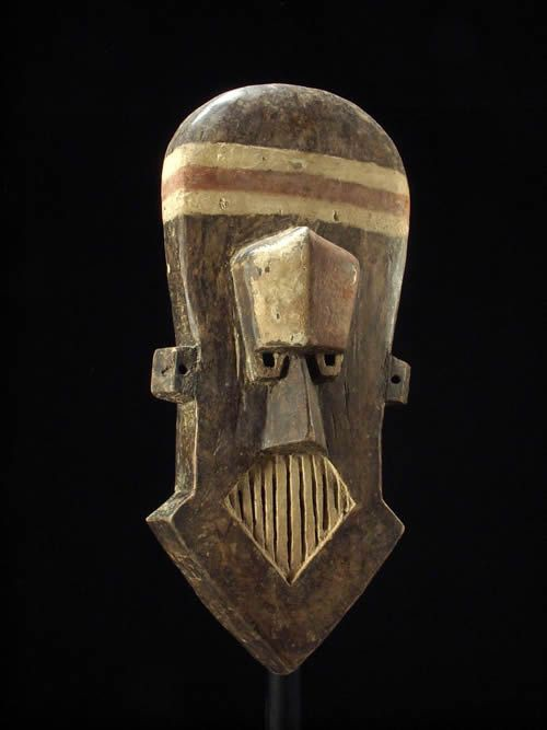 Masque ancien - Kuba / Kete - RDC Zaire