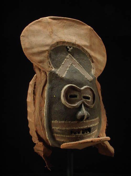 Masque Mukanda Kalelwa - Chokwe - Angola - Masques africains