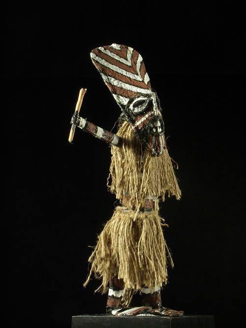 Poupee Akishi - Chokwe - Angola - Poupees africaines