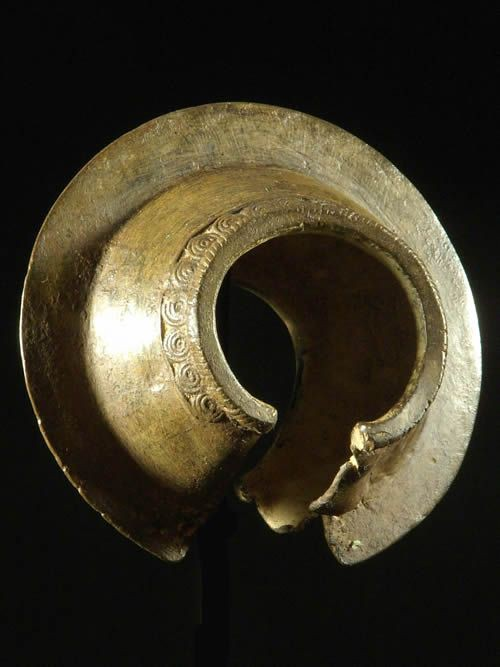 Bracelet Kobre en alliage cuivreux - Mossi - Burkina Faso