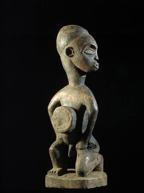 Fetiche Nkisi Nkonde - Kongo / Vili - RDC Zaire - Nkisi Nkonde