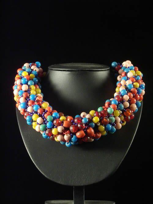 Collier monnaie de mariage - Peuhl Mali - Perles et Monnaies