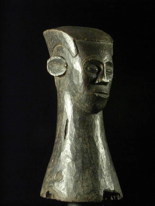 Tete statue pilon - Kuba / Ngongo - RDC Zaire