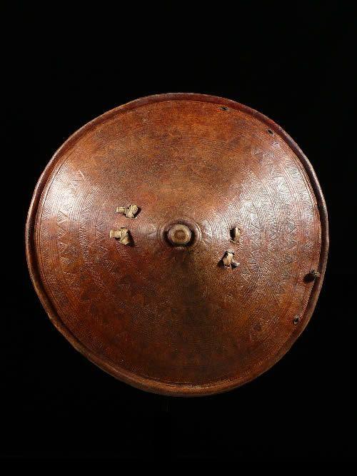 Bouclier en cuir - Sidamo - Ethiopie - Boucliers