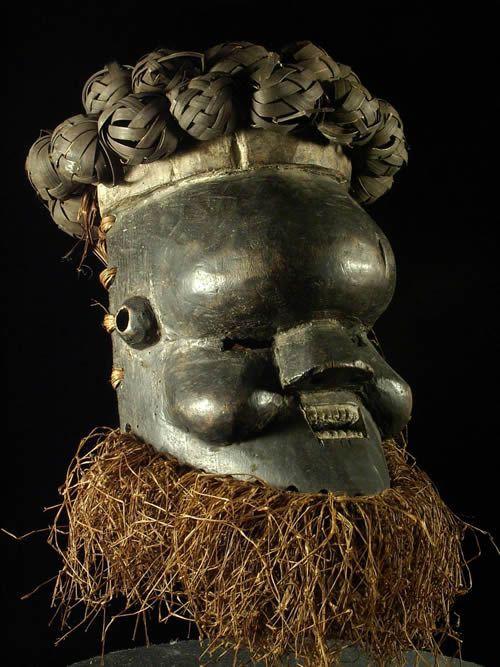 Masque Guerrier - Salampasu - RDC Zaire - Masques guerriers