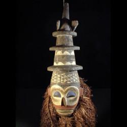 Masque Kholuka - Yaka - Rdc...