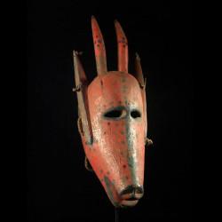 Masque zoomorphe antilope -...